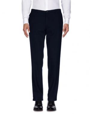 Повседневные брюки DANIELE FIESOLI. Цвет: темно-синий