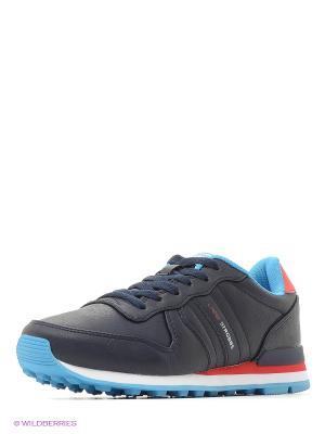 Кроссовки STROBBS. Цвет: синий