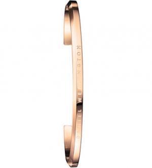 Золотистый браслет-манжета к часам Daniel Wellington