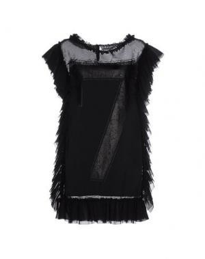 Короткое платье FALORMA. Цвет: черный
