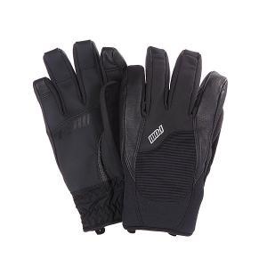 Перчатки сноубордические  Mega Glove Black Pow. Цвет: черный