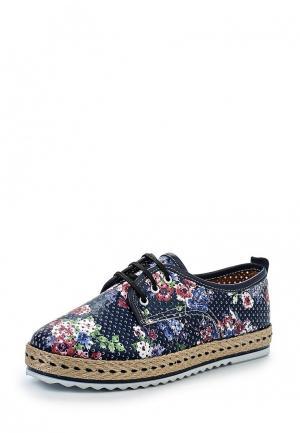 Ботинки Marcella. Цвет: синий