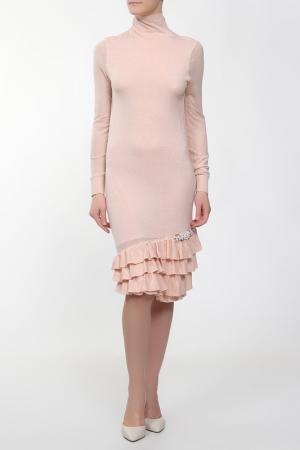 Платье Whos Who Who's. Цвет: розовый