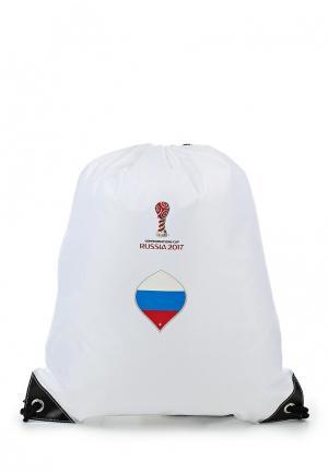 Мешок FIFA Confederations Cup Russia 2017. Цвет: белый