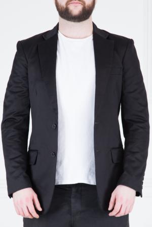 Шелковый пиджак Donna Karan. Цвет: черный