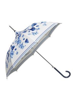 Зонт-трость Copenhagen MollyMarais. Цвет: синий, белый