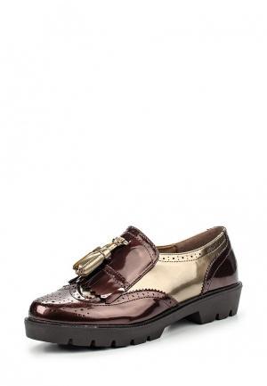 Ботинки Kylie. Цвет: коричневый