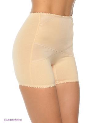 Корректирующие панталоны MITEX. Цвет: бежевый