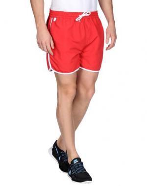 Повседневные шорты RUSSELL ATHLETIC. Цвет: красный