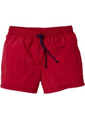 Купальные плавки-шорты Regular Fit (темно-красный) bonprix. Цвет: темно-красный