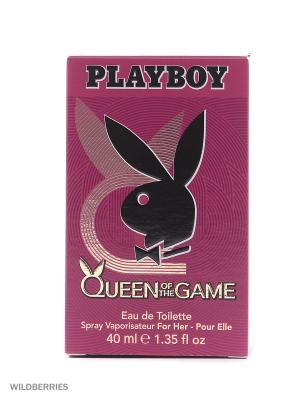Playboy QUEEN М Товар Pby туалетная вода жен 40 мл. Цвет: прозрачный