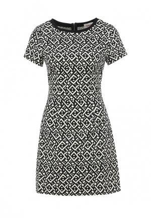 Платье Louche. Цвет: серый