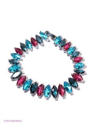 Браслет Happy Garnets. Цвет: голубой, розовый, синий