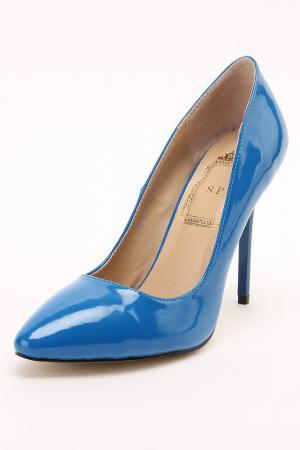 Туфли SP. Цвет: синий