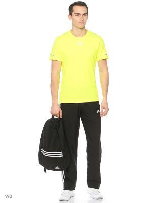 Футболка спортивная муж. RUN TEE M  SYELLO Adidas. Цвет: желтый