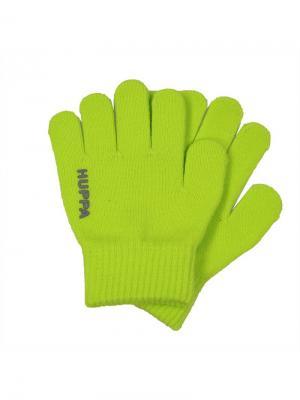 Перчатки LEVI HUPPA. Цвет: светло-зеленый