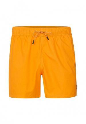 Шорты для плавания Topman. Цвет: желтый