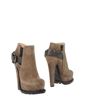 Полусапоги и высокие ботинки GIANMARCO LORENZI. Цвет: верблюжий