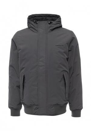 Куртка утепленная Carhartt. Цвет: серый