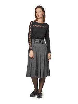 Блузка HELMIDGE. Цвет: черный