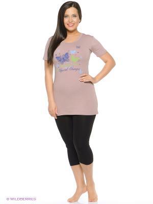 Пижама NICOLETTA. Цвет: бледно-розовый