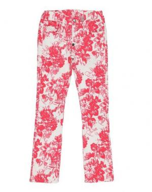 Джинсовые брюки PHILIPP PLEIN. Цвет: фуксия