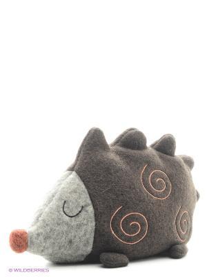 Игрушка мягкая (Ren Hedgehog, 12,5 см). Gund. Цвет: коричневый