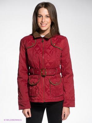 Куртка Siempre es Viernes. Цвет: бордовый, темно-коричневый