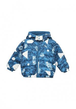 Куртка утепленная Puma. Цвет: синий