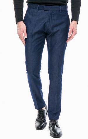 Синие брюки с карманами Antony Morato. Цвет: синий