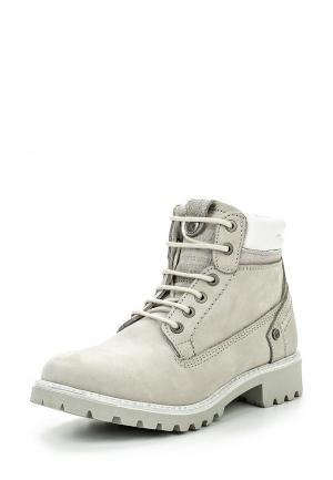 Ботинки Wrangler. Цвет: белый