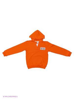 Толстовка K&R BABY. Цвет: оранжевый