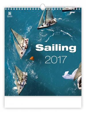 Календарь: Sailing (Парусники) 8595230638755 ст.10 КОНТЭНТ. Цвет: белый
