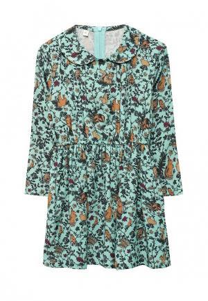 Платье Fleur de Vie. Цвет: зеленый