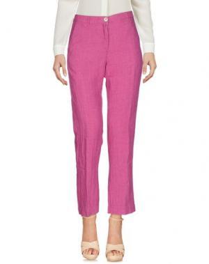Повседневные брюки MASSIMO ALBA. Цвет: пурпурный