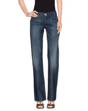 Джинсовые брюки KILLAH. Цвет: синий