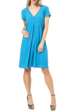 Платье Jones. Цвет: синий