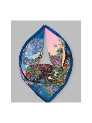 Арт-платок Лукоморье Оланж Ассорти. Цвет: розовый, синий, зеленый
