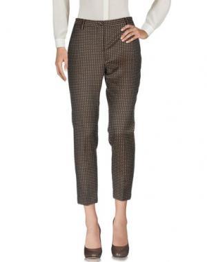 Повседневные брюки BRIAN DALES. Цвет: коричневый