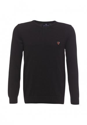 Пуловер Jimmy Sanders. Цвет: черный