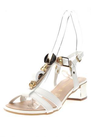 Sandals PRATIVERDI. Цвет: white