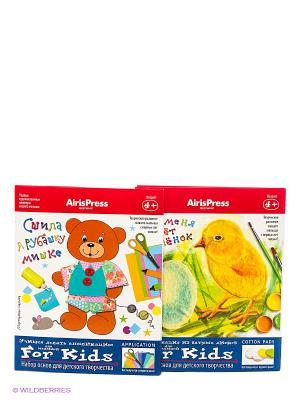 Мастерская малыша. Набор основ для детского творчества АЙРИС-пресс. Цвет: белый, синий, красный