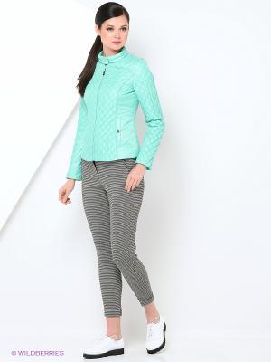 Куртка Lanicka. Цвет: светло-голубой, лазурный, серо-голубой