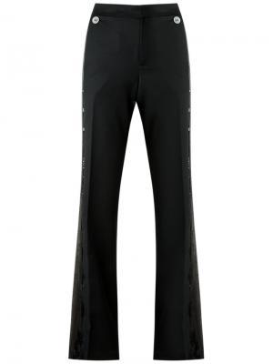 Flare trousers Reinaldo Lourenço. Цвет: чёрный