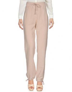 Повседневные брюки NOVEMB3R. Цвет: светло-розовый