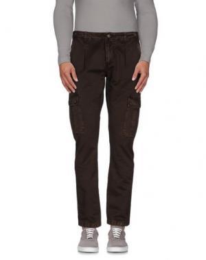 Повседневные брюки (M) MAMUUT DENIM. Цвет: темно-коричневый