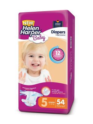 Подгузники Junior 11-18 кг. (54 шт.)/4 HELEN HARPER BABY. Цвет: фиолетовый