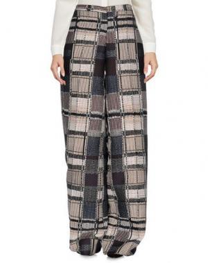 Повседневные брюки MAURIZIO PECORARO. Цвет: черный