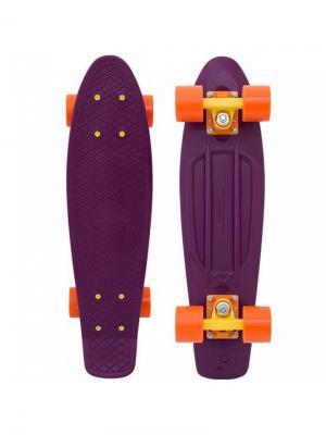Комплект лонгборд ORIGINAL 22 (SS) PENNY. Цвет: сливовый, оранжевый