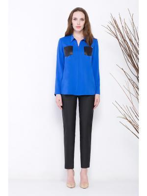 Блузка Endea. Цвет: синий